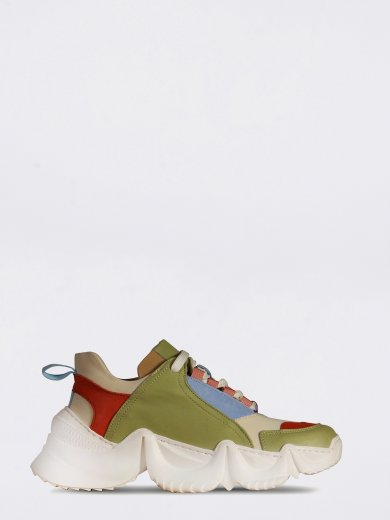 LOLLY SNEAKERS MULTI GREEN