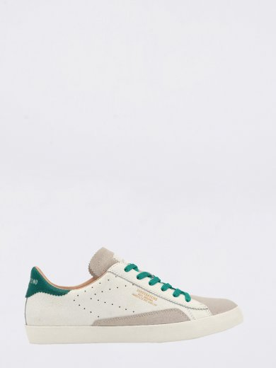 SC01 WHITE GREEN CHUNKY SNEAKERS