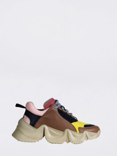 LOLLY SNEAKERS MULTI BROWN