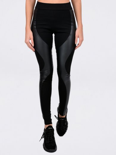 TE LEATHER LEGGINGS