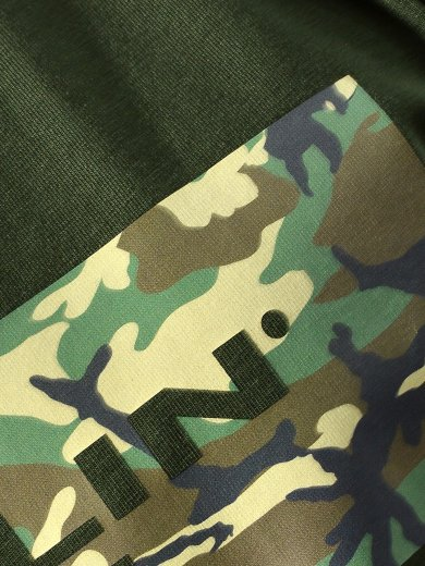 CAMOUFLAGE LOGO T-SHIRT ARMY