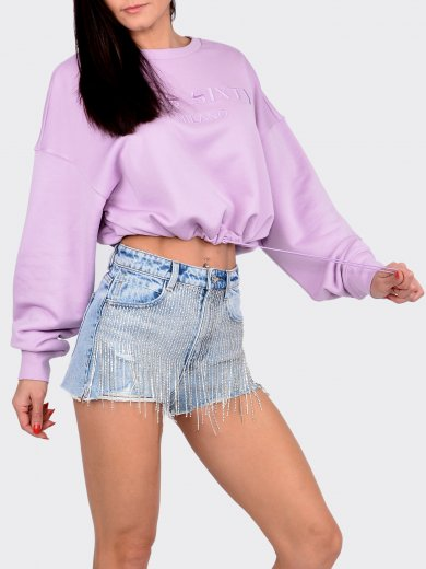 CROPPED SWEASHIRT