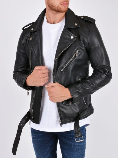 CLASSIC LEATHER BIKER