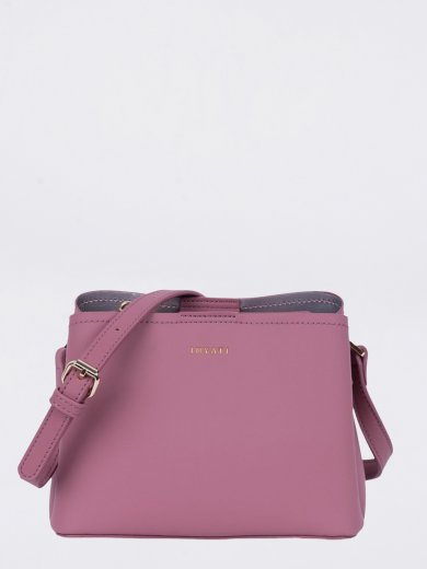 LEA ROSEWOOD VEGAN CROSSBODY BAG