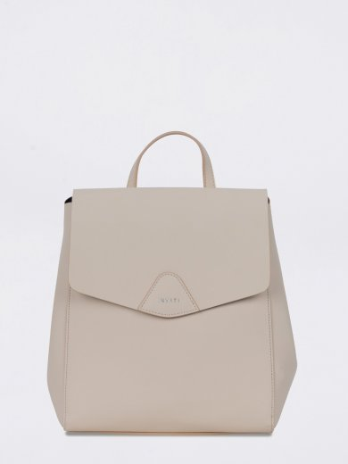 THALIE BEIGE VEGAN BACKPACK