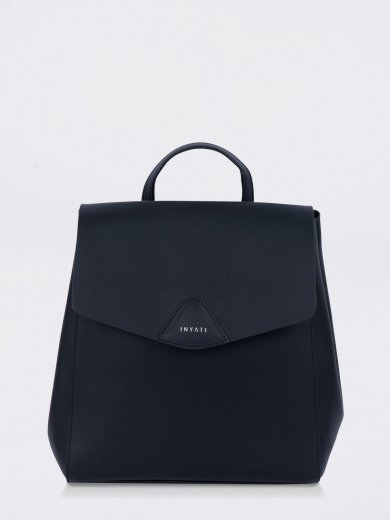 THALIE BLACK VEGAN BACKPACK