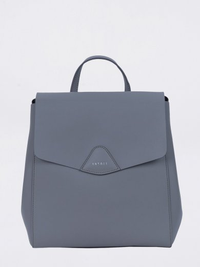 THALIE MID GREY VEGAN BACKPACK
