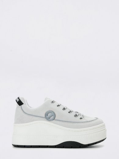 JUMP DERBY COW SUEDE WHITE