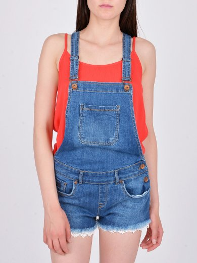 LACE DUNGAREE