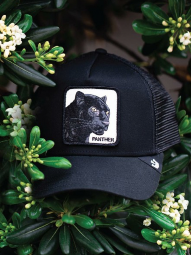 BLACK PANTHER ANIMAL FARM HAT