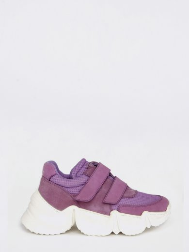 SPEED LILAC CHUNKY SNEAKERS