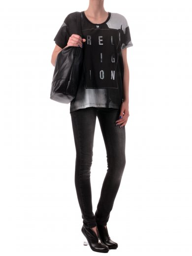 Depletion Tee Blouse