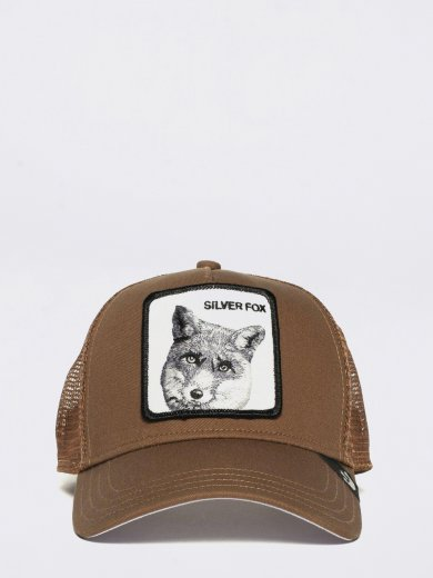 SILVER FOX ANIMAL FARM HAT