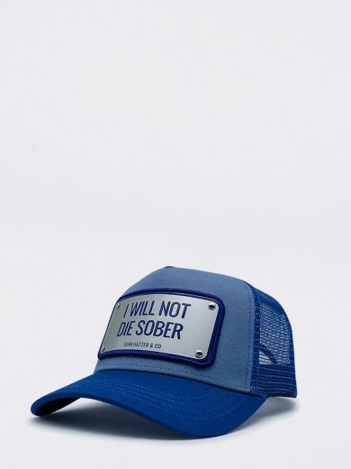 I WILL NOT DIE SOBER UNISEX CAP