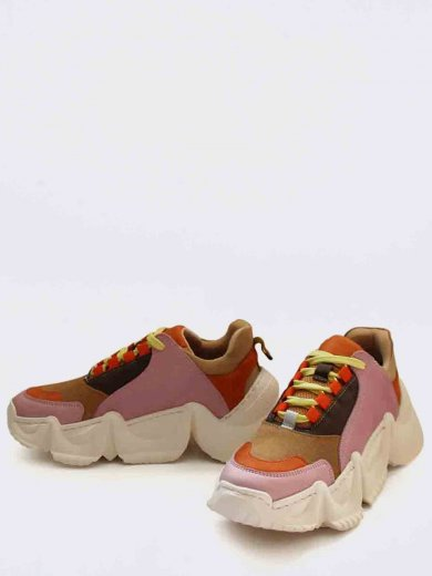 LOLLY SNEAKERS MULTI PINK ORANGE