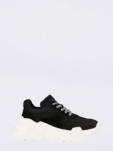 SPRINT MESH BLACK CHUNKY SNEAKERS