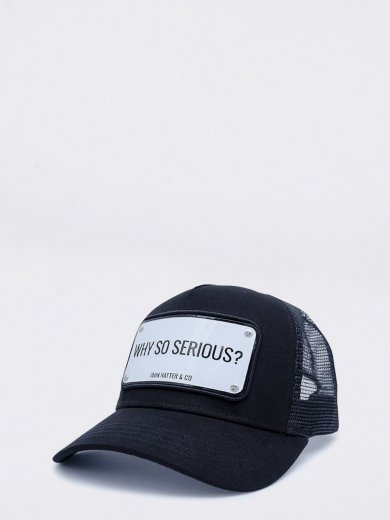 WHY SO SERIOUS? UNISEX CAP