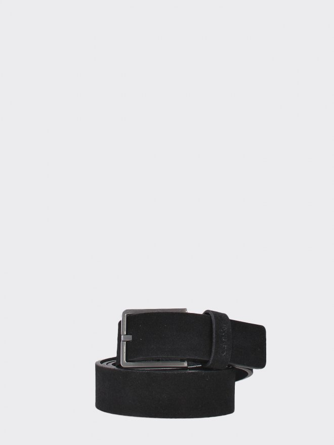 SLIM SUEDE BELT