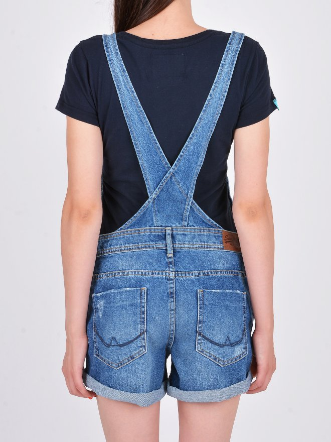 NAOMI SHORT DUNGAREE